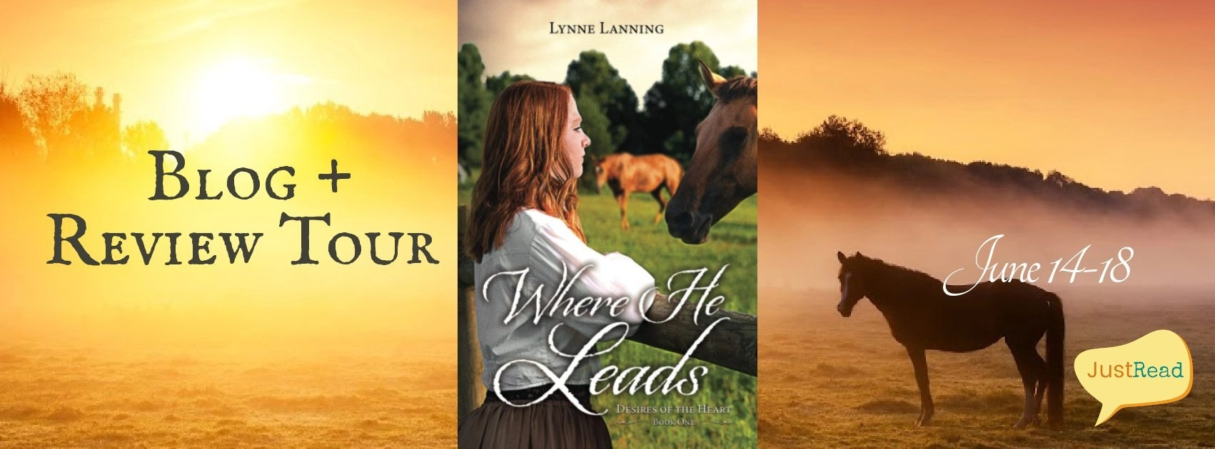 Welcome to the Where He Leads Blog + Review Tour & Giveaway!