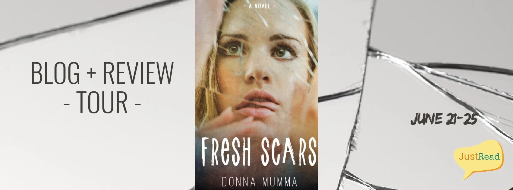 Welcome to the Fresh Scars Blog + Review Tour & Giveaway!