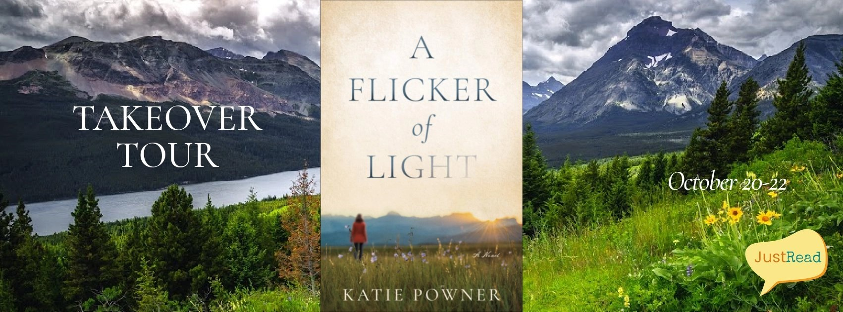 Welcome to A Flicker of Light Takeover Tour & Giveaway!