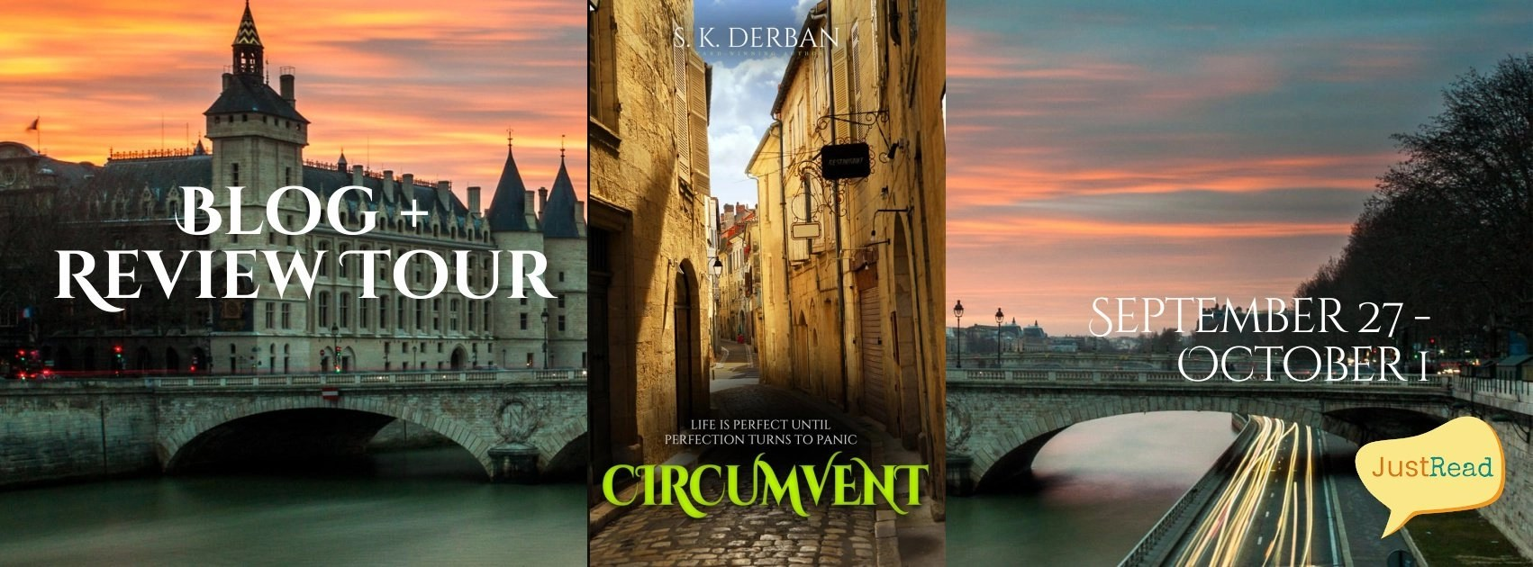Welcome to the Circumvent Blog + Review Tour & Giveaway!