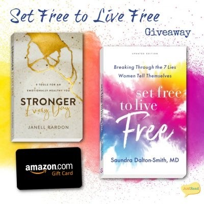 Set Free to Live Free JustRead Takeover Tour Giveaway