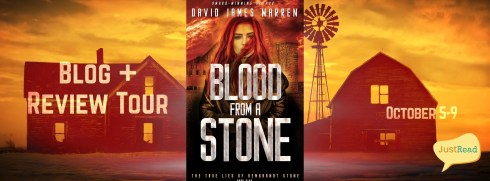 Blood from a Stone JustRead Blog + Review Tour