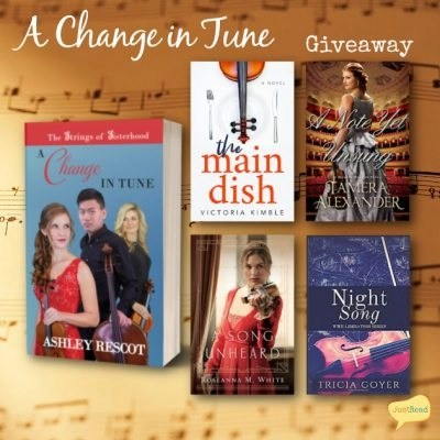 A Change in Tune JustRead Giveaway