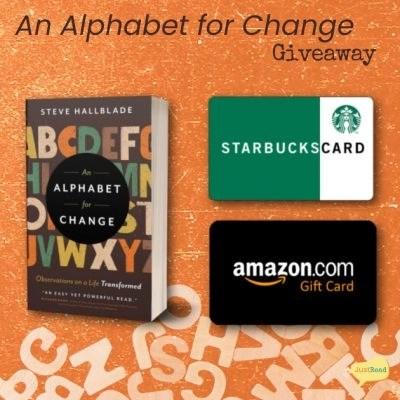 An Alphabet for Change JustRead Giveaway