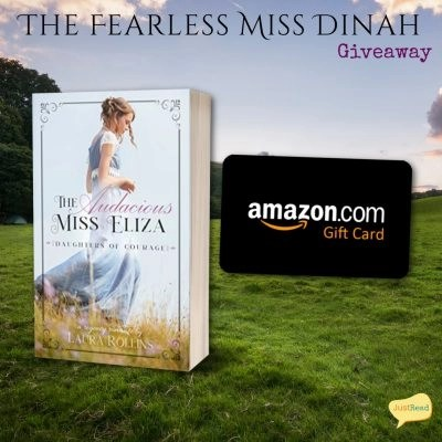 The Fearless Miss Dinah JustRead Giveaway