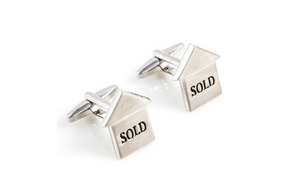 Just Real Estate Marketing Mens Cufflinks