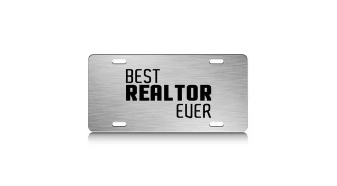 License Plate - Car and Auto Products for Realtors