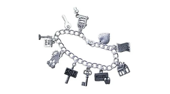 Charm Bracelet - Real Estate Jewelry - Realtor