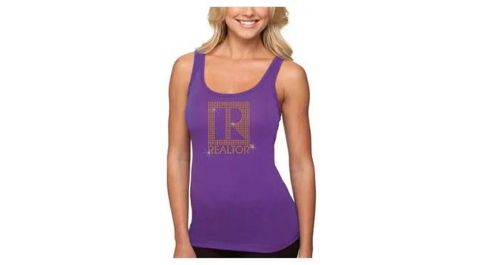 Young Ladies Bling Realtor T-Shirt