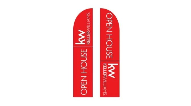 Open House Banners for Keller Williams Agents