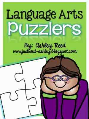 http://www.teacherspayteachers.com/Product/Language-Arts-Puzzlers-1086395