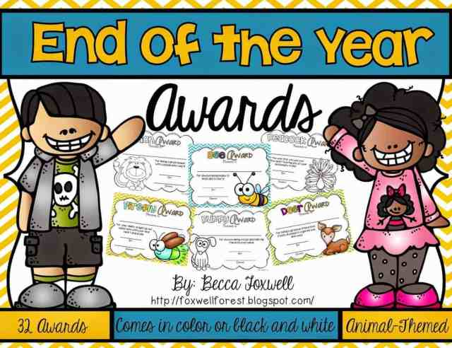 http://www.teacherspayteachers.com/Product/End-of-the-Year-Awards-1248295