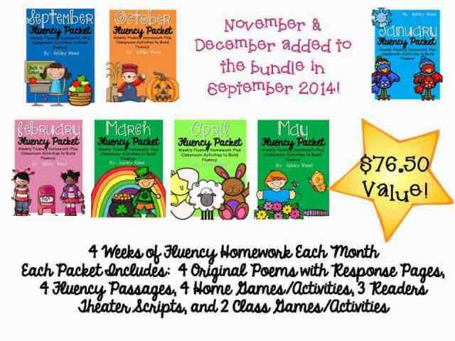 http://www.teacherspayteachers.com/Product/Monthly-Fluency-Homework-Bundle-September-May-1356716