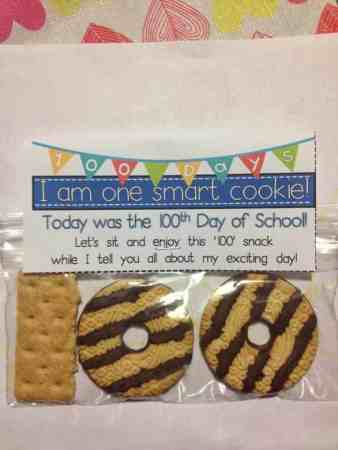 100th day cookies