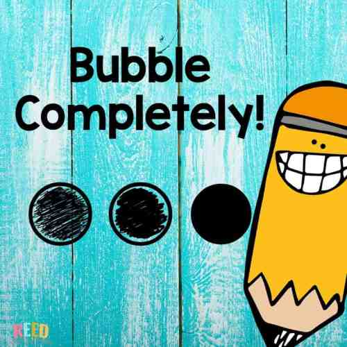 bubble completely