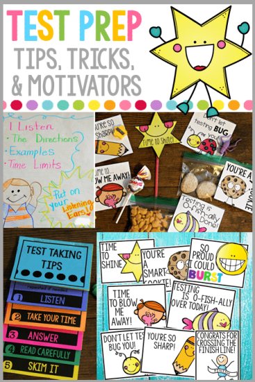 Find out how to prepare, motivate, and encourage your students during testing season!