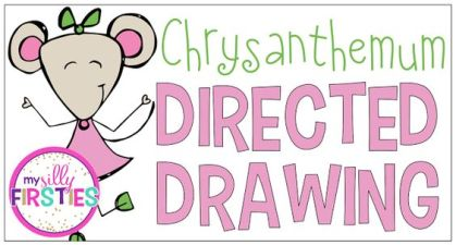chrysanthemum directed drawing