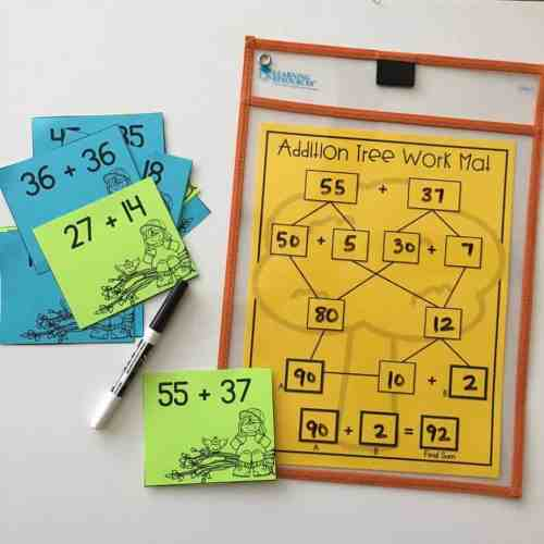 Tips, tricks, and strategies for teaching 2 digit addition with regrouping