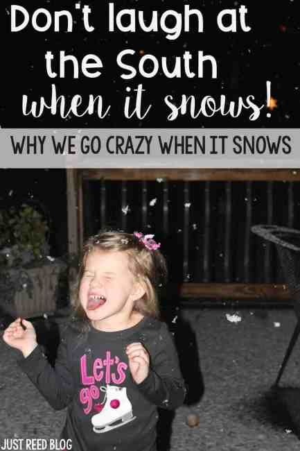Why you should never laugh at Southernors' reactions to snow!