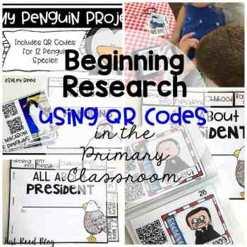 Technology in the Classroom:  Ipads, QR Codes, and Research