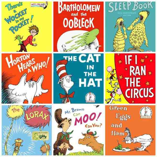 Celebrate Read Across America and Dr. Seuss's birthday with these fun classics!