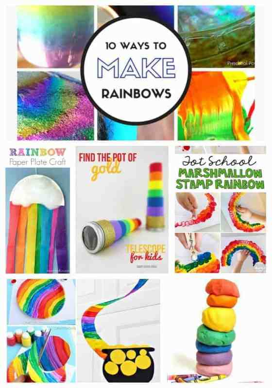 Rainbow Fun for St. Patrick's Day