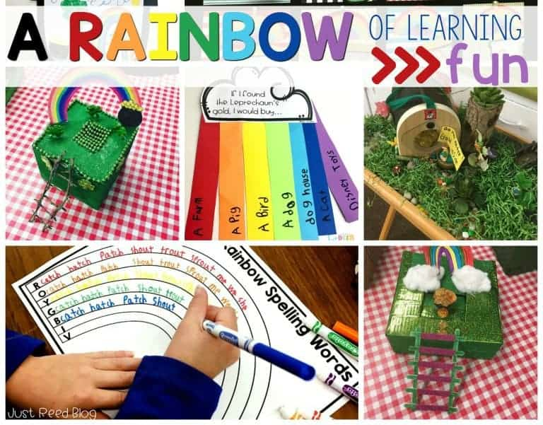 Enjoy this rainbow of learning activities for St. Patrick's Day.