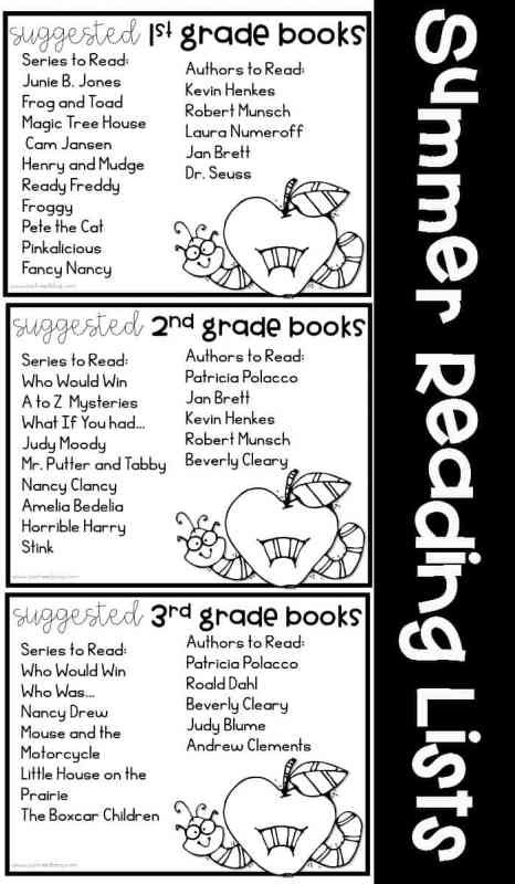 Free  Summer Reading Program for 1st through 3rd grades for a Summer Reading Program