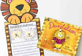 Teaching Central Message or Lesson using Dandelion as a Mentor Text