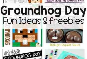 FREE Groundhog Day Coloring Pages Just for You
