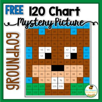 This FREE Groundhog Day 120 Chart Mystery Picture is the perfect mix of math and holiday fun!