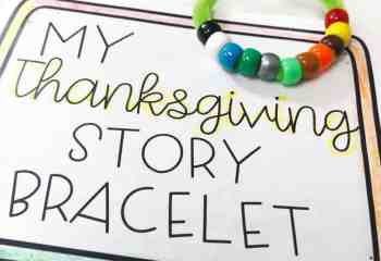 Thanksgiving Story Bracelets – A FREE Resource
