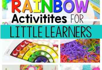20 Rainbow Activities for Little Learners