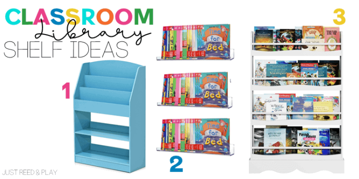 Classroom Library Ideas for storing and organizing books