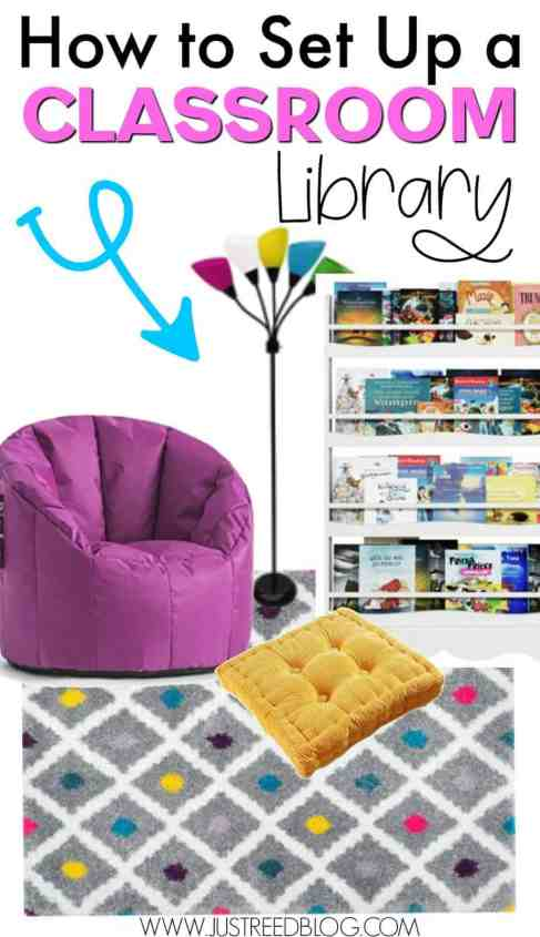 How to set up your classroom library