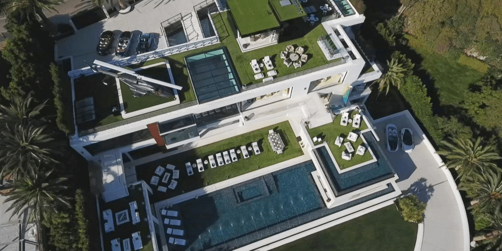 Inside The 250 Million Bel Air Mansion Americas Most