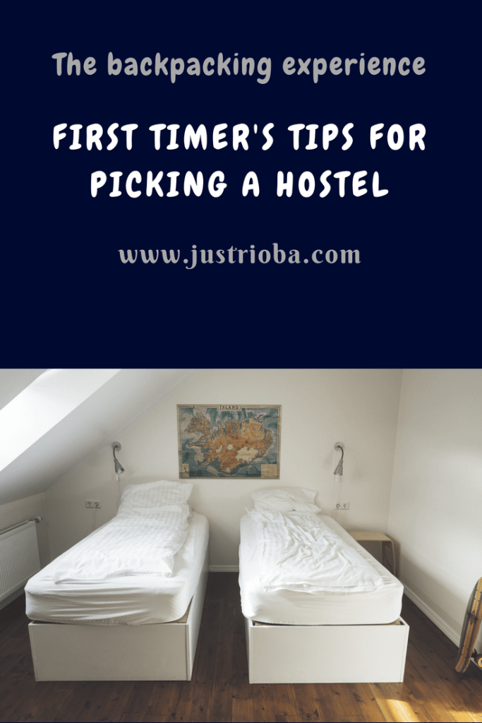 things to know before booking a hostel