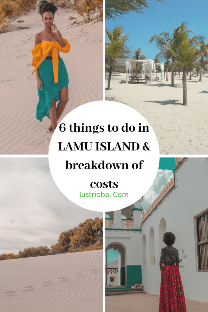 How much it would cost you to travel to Lamu Island and things to do  costs in Lamu Island