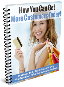 Get more customers with local website design - report