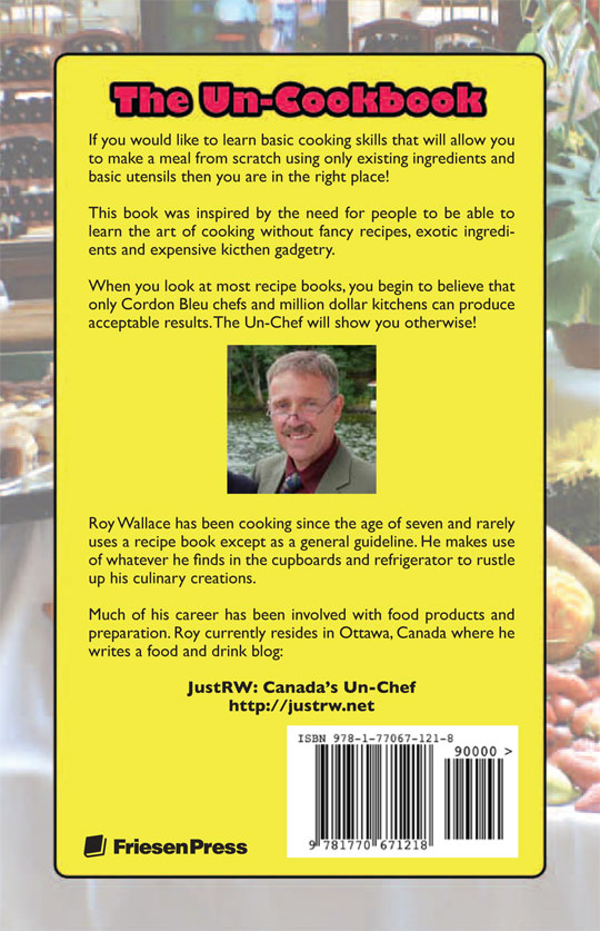 Save 20% off MSRP when you buy our Un-Cookbook publisher-direct