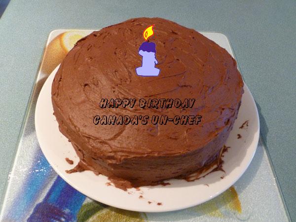 Roy's Birthday Cake