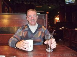 Roy Wallace at Tartan Pub