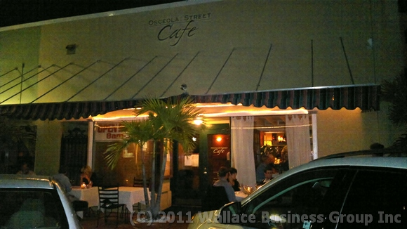 Osceola Street Cafe in Stuart Florida