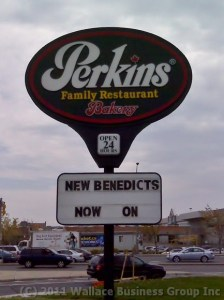 Perkins Family Restaurant at St. Laurent