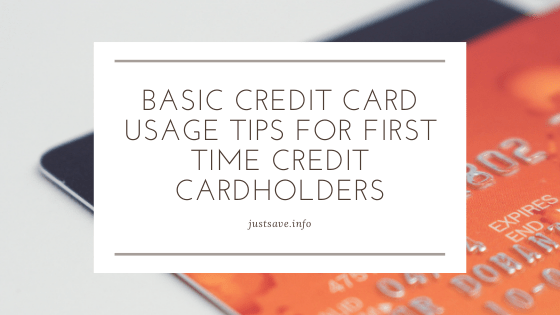 Basic Credit Card Usage Tips For First Time Credit Cardholders