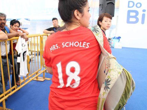 Paul Scholes in Singapore