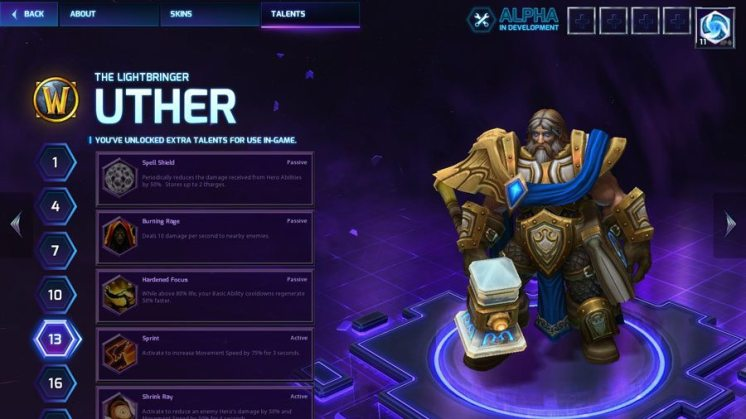 Heroes of the Storm Uther