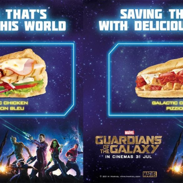 Subway Guardians of the Galaxy Limited Edition Subs