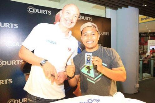 Courts x Frank Leboeuf - Meet & Greet Fans 25 Apr 2015 (8)