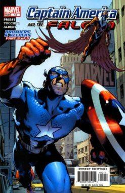Captain America & the Falcon #012